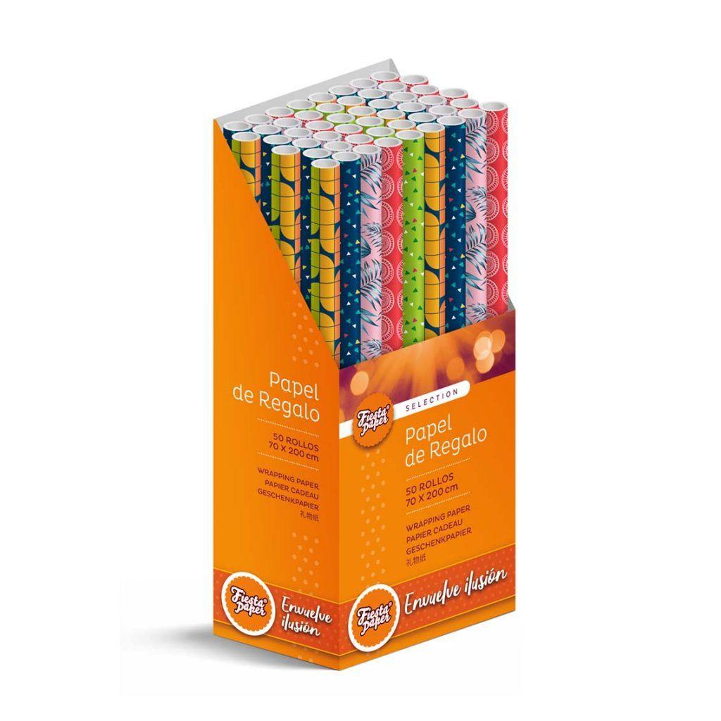Rollos de papel de regalo REFORZADO – 70 x 200 cm