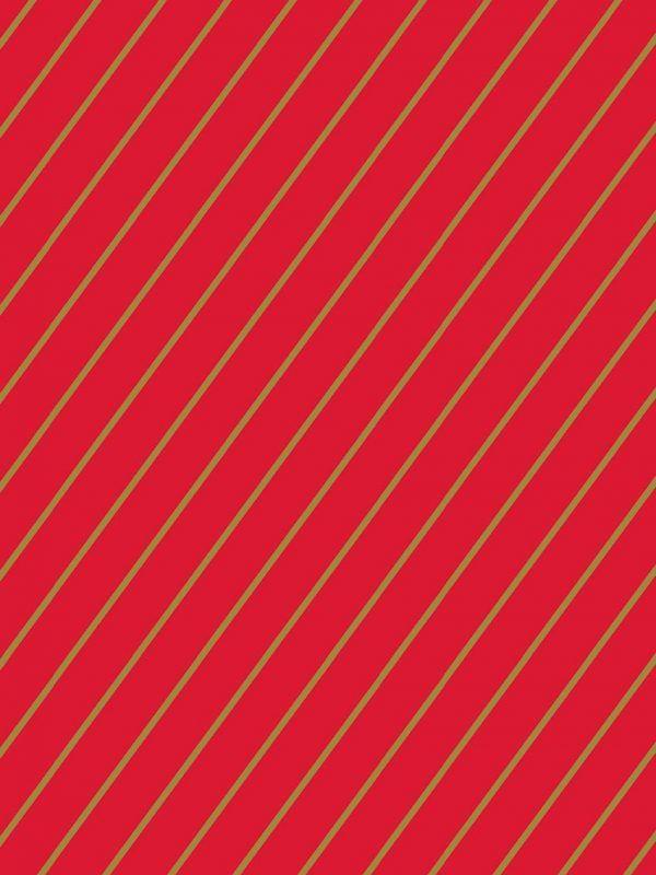 Bobina Papel de regalo CLASSIC • Rayas Rojo Oro