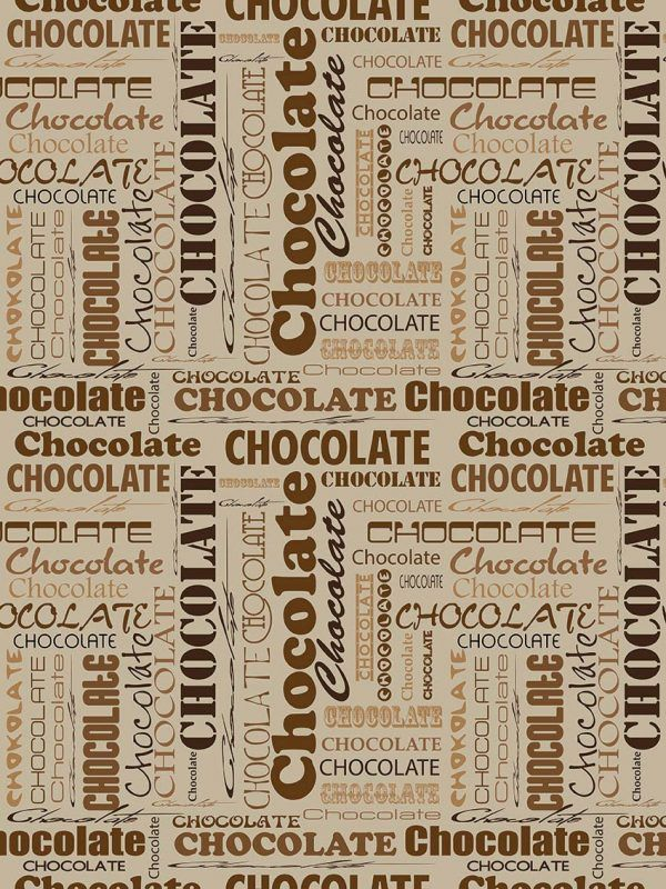 Bobina Papel de regalo CLASSIC • Chocolate • Beige:Marron • 62cm y 31cm x 100m