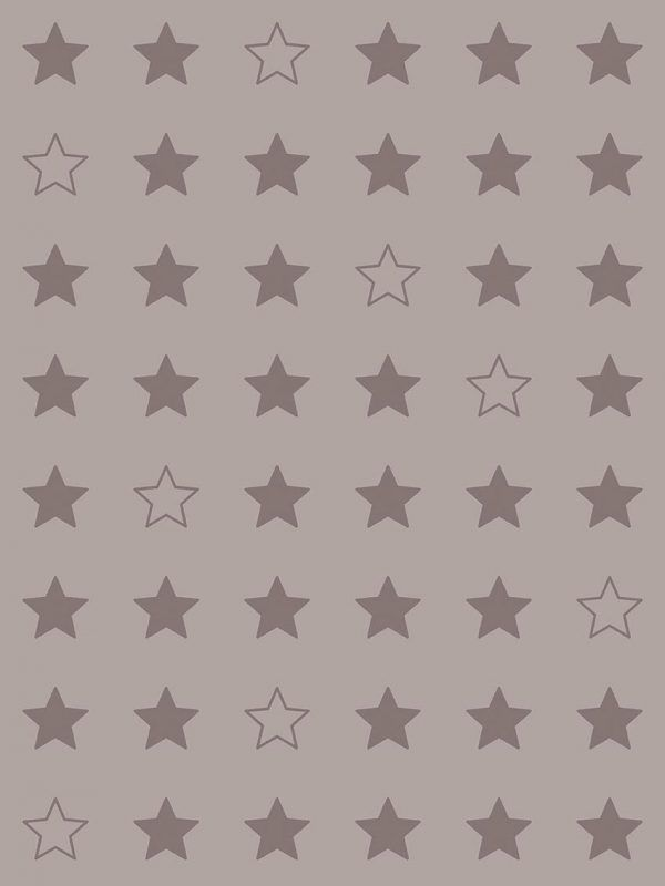 Bobina Papel de regalo CLASSIC • Estrellas • Gris 407 • 62cm y 31cm x 100m