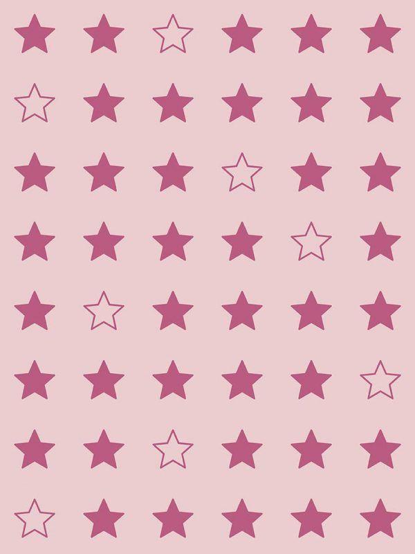Bobina Papel de regalo CLASSIC • Estrellas • Rosa 691 • 62cm y 31cm x 100m