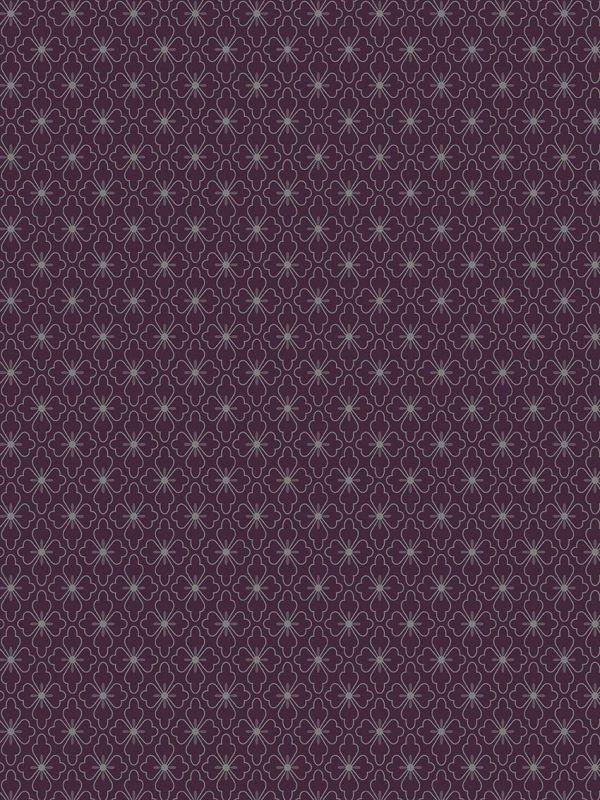 Bobina Papel de regalo CLASSIC • Polin • Plata:Berenjena • 62cm y 31cm x 100m