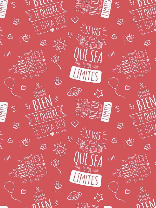 Bobina Papel de regalo INSPIRATION • Inspiración • Rojo 7418 • 62cm y 31cm x 100m